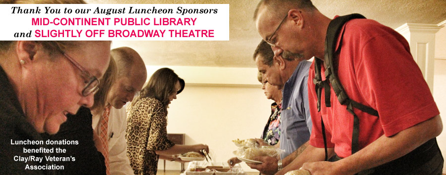 Lunch Sponsors Mid-Continent Public Library and Slightly Off Broadway Theatre